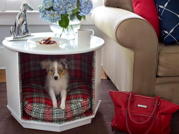 reciclar mueble para cama para perros